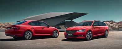 Peugeot Interior Parts Skoda 2017 Superb Sportline Skoda Reveals Top Spec