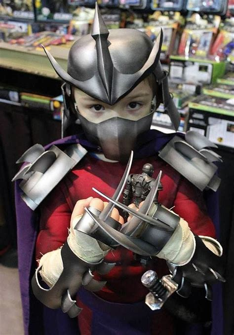 teenage mutant ninja turtles shredder kid costume