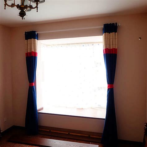 red and white curtains for bedroom simple chenille red white simple chenille navy red plaid solid nautical curtains