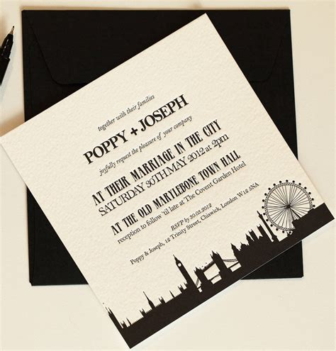invitation design london 17 best images about skyline invitations invitations