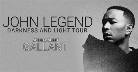 John Legend Darkness And Light Tour Vip Experiences