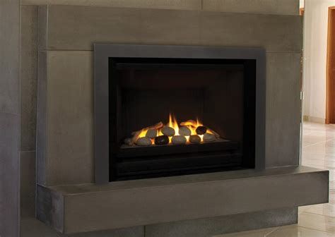 fireplace insert hi300 hton on custom fireplace