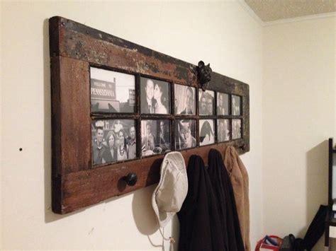 great coat rack idea this wonderful rustic door