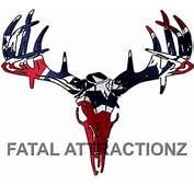 Rebel Flag Deer Skull S4  Fatal Attractionz