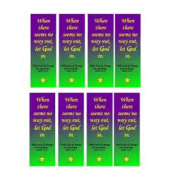 free will template 40 free printable bookmark templates template lab