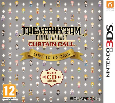 final fantasy curtain call theatrhythm curtain call to launch in september with a
