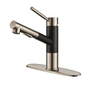 Stainless Steel Kitchen Faucet by Kraus Geo Axis Single Handle Pull Out Sprayer Kitchen