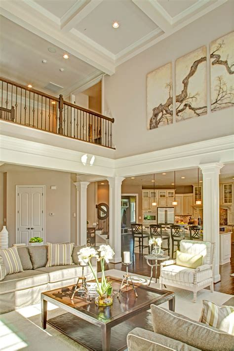 story family room  coffered ceiling google