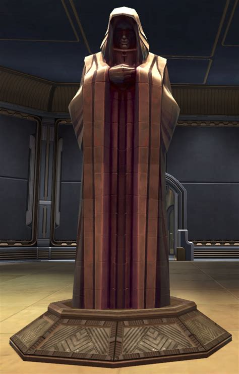 tor decorating statue   emperor swtor