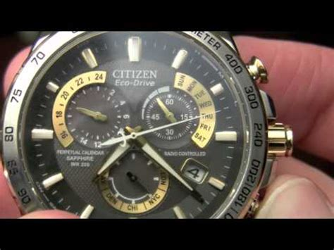 Calendar Drive Time How To Set Time Calendar On Citizen Eco Drive 8700