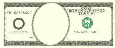Million Dollar Bill Template by Dollar Blank By Kuraimizu Meme Center