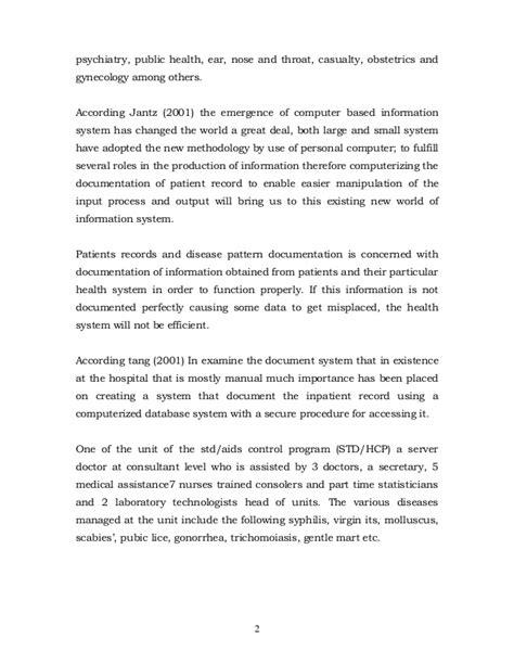 medical case study outline format