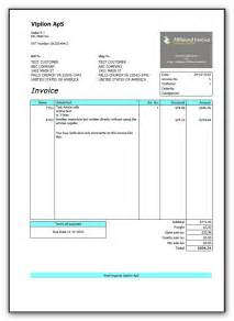 Moving Receipt Template Free Download Moving Company Invoice