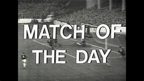 the day of the match of the day opening titles 1970 youtube