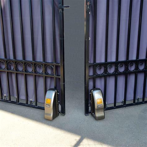 swing gate opener aleko rl1350 roller dual swing gate opener