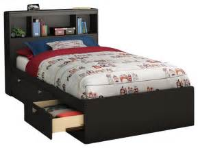 south shore affinato mates storage bed frame only in