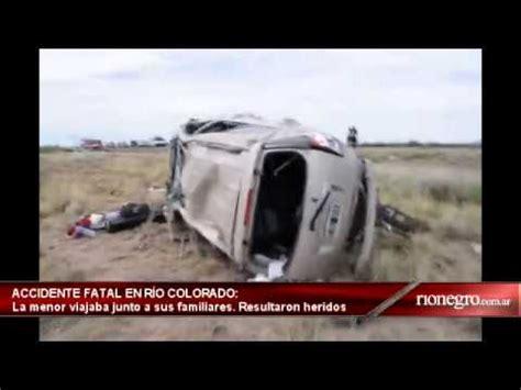 diario rio negro diario r 237 o negro r 237 o colorado accidente fatal en ruta