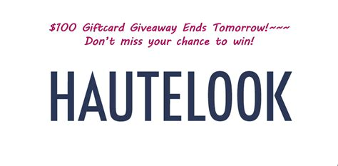 Giveaway Ends - giveaway ends tomorrow pretty gossip