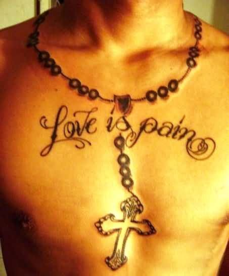pain is love tattoo the gallery for gt is lettering
