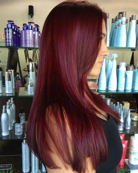 coke blowout hairstyle 50 shades of burgundy hair dark red maroon red wine