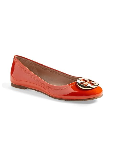 burch flat shoes sale burch burch reva leather ballet flat