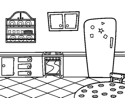 The Kitchen House Number Of Pages Traditional Kitchen Coloring Page Coloringcrew