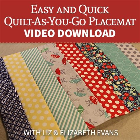 pattern for quilt as you go placemats pattern for quilt as you go placemats easy and quick quilt