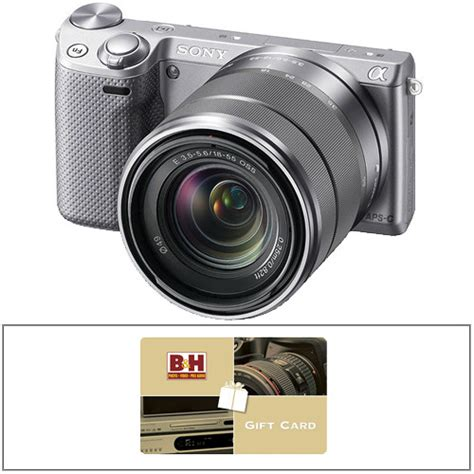 Nex Gift Card - sony alpha nex 5r mirrorless digital camera kit with 18 55mm b h