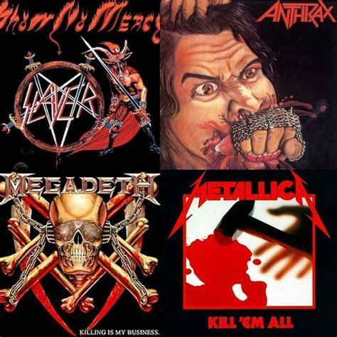 best megadeth album debut albums of big 4 slayer anthrax megadeth and
