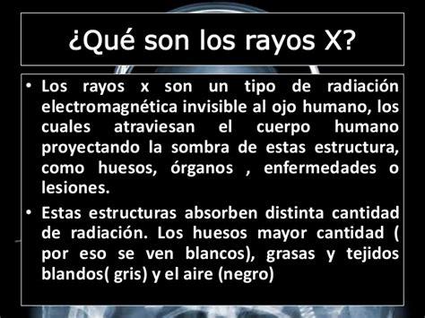 uso de los rayos x rayos x