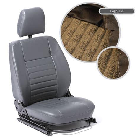 cer reclining seats front outer seat in land rover logo brown left for