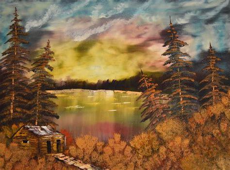 bob ross painting original for sale bob ross sunset paintings for sale bob ross sunset for