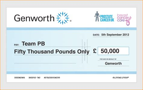 Order Fully Customised Large Presentation Cheques Online Large Cheques For Presentation