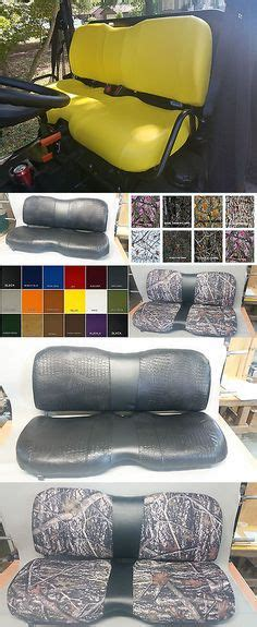 gator 825i seat covers deluxe deere gator mower yellow seat cover m