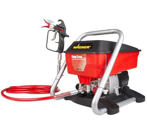 1 gallon airless paint sprayer wagner paint crew 2600 psi 2 gallon paint sprayer qvc