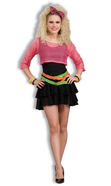 fashion for women over 80 celebrity inspired 80 s fashion include bold material girl