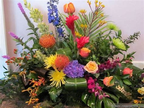 i fiori it composizioni di fiori decoupage