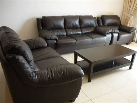 Lorenzo Leather Sofa Lorenzo Leather Sofa Expat Moving Out Sale For Sale From Kuala Lumpur Adpost Classifieds