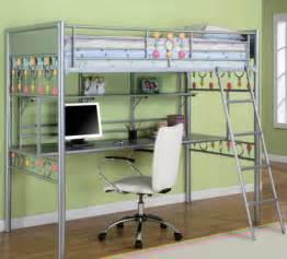 Metal Bunk Bed With Desk Underneath Modelo De Cama Litera Imagui
