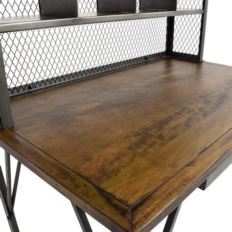 wood and iron desk 60 off world market world market reclaimed wood and