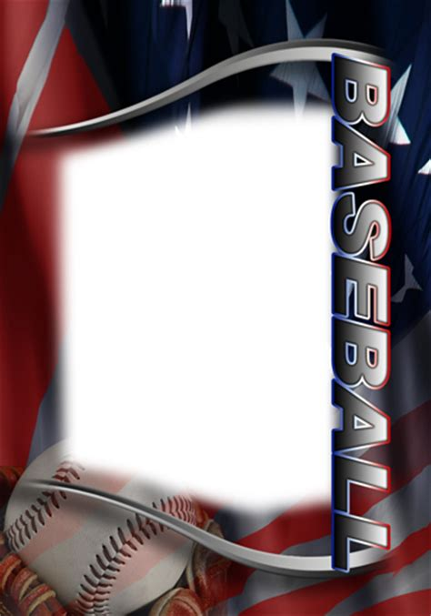 baseball card design template baseball photo templates