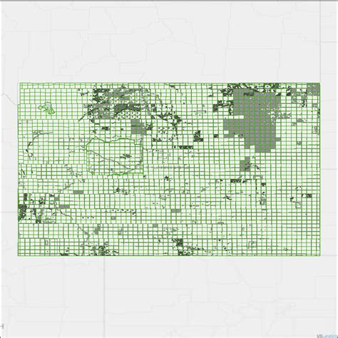 section grid wyoming land grid townships sections lots quarters