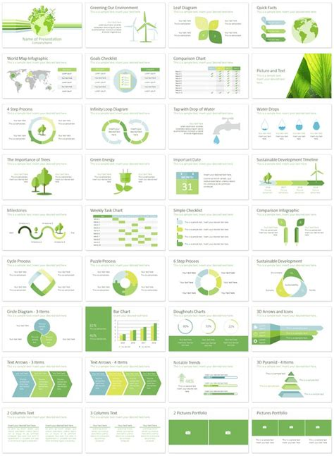 corporate sustainability report template 133 best powerpoint templates images on