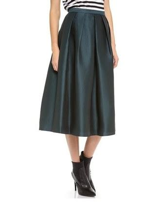 Rok Midi Flower Punching Skirt 601 Rok Midi Flare Lebar Rok pretty skirts for the newest fashion week pretty designs