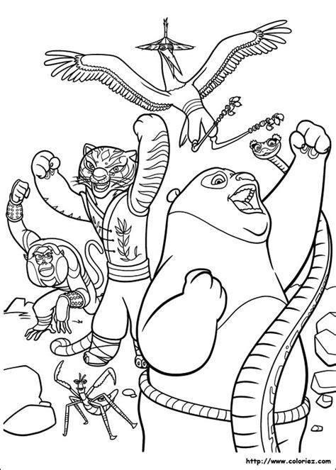 Collection of Imagenes Kung Fu Panda 3 Para Colorear | Juegos De ...