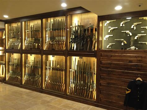 crafted gun room cabinetry by enoch choi design