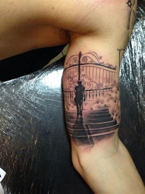 24 best images about Stairway to Heaven Tattoos on ... Gates Of Heaven Design