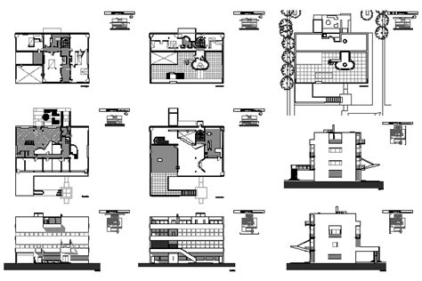 Floor Plans Symbols by Bloques Cad Autocad Arquitectura Download 2d 3d Dwg