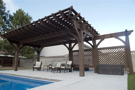 trellis with roof impressive poolside pergola cantilever roof trellises
