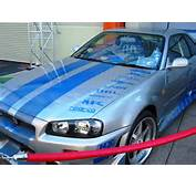 Front Left 2 Fast Furious Brian OConners Skyline R34 GT